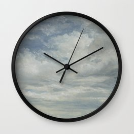 Light Clouded Wall Clock