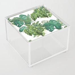 A Pattern of Plants Acrylic Box
