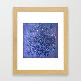 It is written in the stars Mandala Framed Art Print