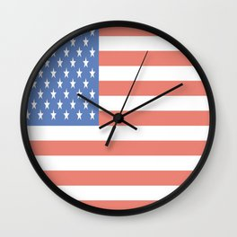 American Flag - National Flag of the US Wall Clock
