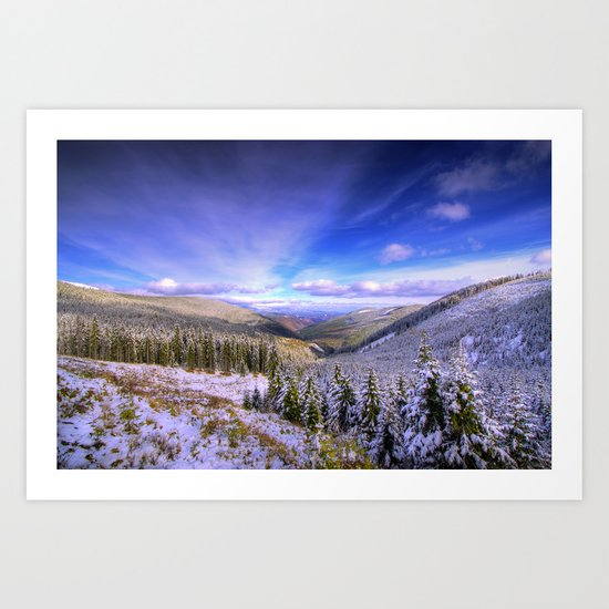 Winter Lands II Art Print