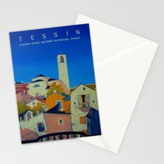 Vintage Tessin Switzerland Travel Stationery Cards