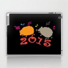 Dancing sheep 2015 year of the animal Laptop & iPad Skin