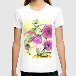gerber daisy T-shirt