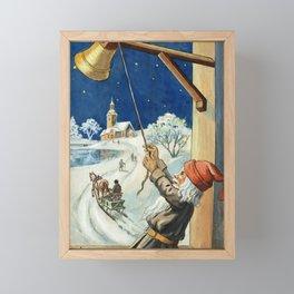 """Ring the Bell"" by Jenny Nystrom Framed Mini Art Print"