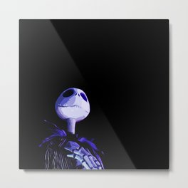 The Pumpkin King Metal Print