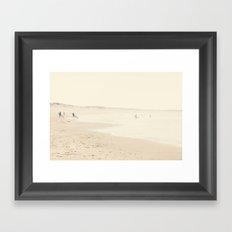 surfing life III Framed Art Print