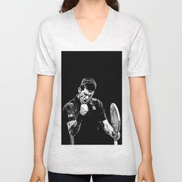 Djokovic Fist Pump Unisex V-Neck