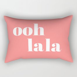ooh la la IV Rectangular Pillow