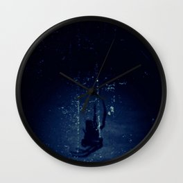 Some Things Lurk in the Darkness Wall Clock