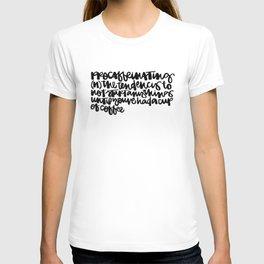 Procaffeinating T-shirt