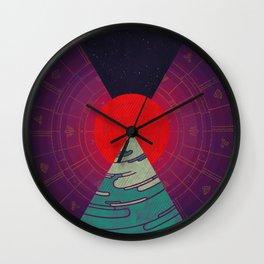 Sunset Study Wall Clock