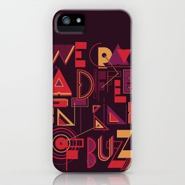 A Different Buzz iPhone Case