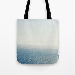 Ocean Horizon Diamonds Tote Bag
