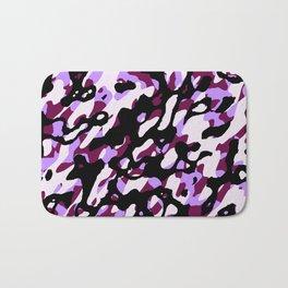 Purple Camo Bath Mat