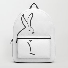Zen Snow Bunny Backpack