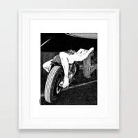 apollonia Framed Art Prints featuring asc 585 - L'étalage (The display) by From Apollonia with Love