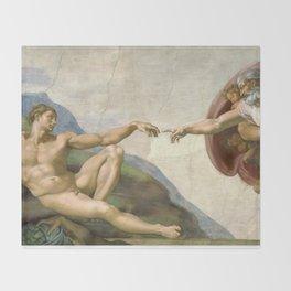 Michelangelo - Creation of Adam Decke