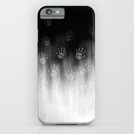 Terror White Hands iPhone Case