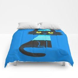 Fitz - Sailor cat Comforters