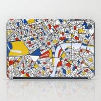 mondrian iPad Cases featuring London Mondrian by Mondrian Maps