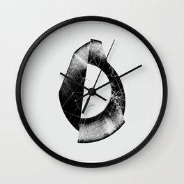 Vinyl Fold 2 Wall Clock