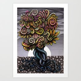 The Tree of Life II Art Print