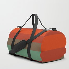 Rust Turquoise Spice - Color Therapy Duffle Bag