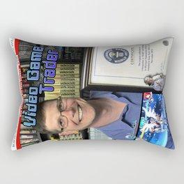 Video Game Trader #26 Cover Design Rectangular Pillow