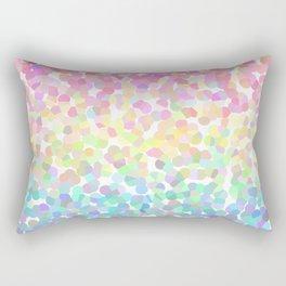 Abstract rainbow texture Rectangular Pillow