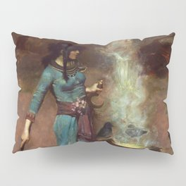 The Magic Circle John William Waterhouse Painting Pillow Sham