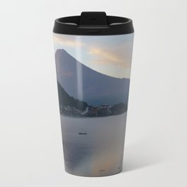 Beautiful Mt Fuji Travel Mug