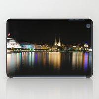 switzerland iPad Cases featuring Luzern, Switzerland by CSKong