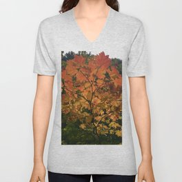 Autumn Shade Unisex V-Neck