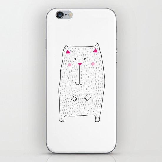 berry kitty iPhone & iPod Skin