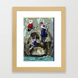 Ach Wo! Framed Art Print