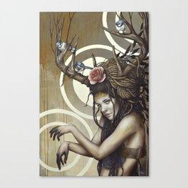 Sakari Canvas Print