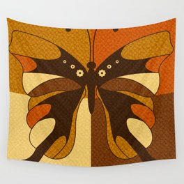 RETRO BUTTERFLY Wall Tapestry