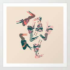 69's Art Print