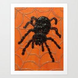 Spooky Tarantula Art Print