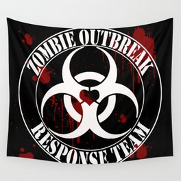 Neverlands Zombie Outbreak Response Team Wall Tapestry