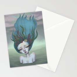 Surreal Ondine Stationery Cards