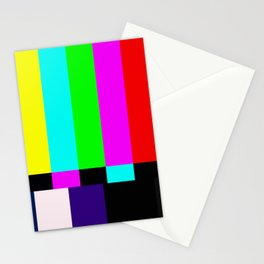 No Signal TV Stationery Cards