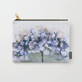 Delicate Hydrangea Carry-All Pouch