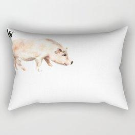 Chinese Zodiac (Pig)  Rectangular Pillow