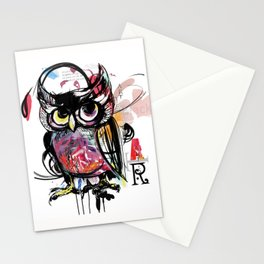 art owl Stationery Cards