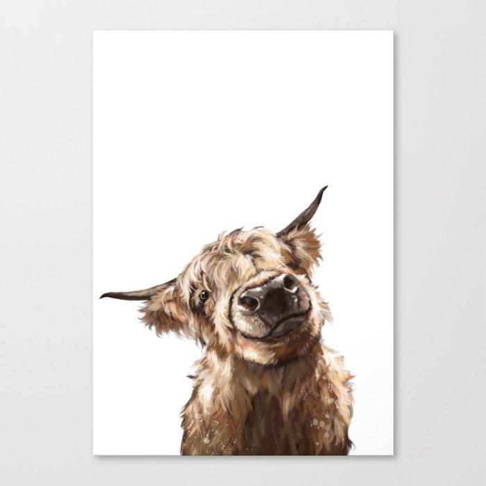 Highland Cow Leinwanddruck