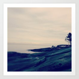 Galiano Island, British Columbia Art Print