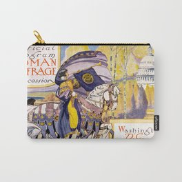 Woman suffrage procession March 3, 1913 Carry-All Pouch