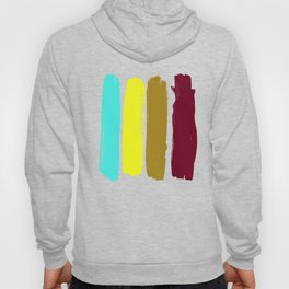 Color stripes Hoody